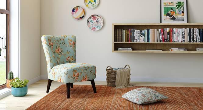 Greta Lounge Chair (Floral) by Urban Ladder