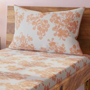 Gulmohar Bedsheet Set (Single Size, Multi Colour, Floral Pattern) by Urban Ladder