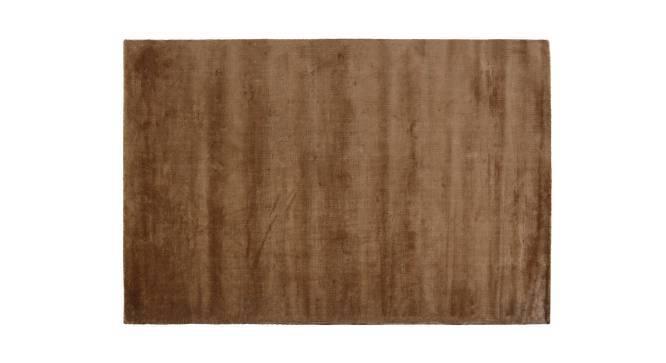 "Rubaan Viscose Rug (60"" x 96"" Carpet Size, Bronze) by Urban Ladder"