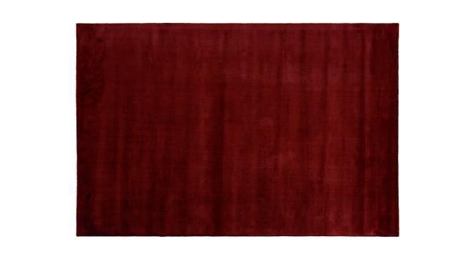 "Rubaan Viscose Rug (48"" x 72"" Carpet Size, Garnet Red) by Urban Ladder"