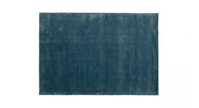 """Rubaan Viscose Rug (60"""" x 96"""" Carpet Size, Pastel Turquoise) by Urban Ladder"""
