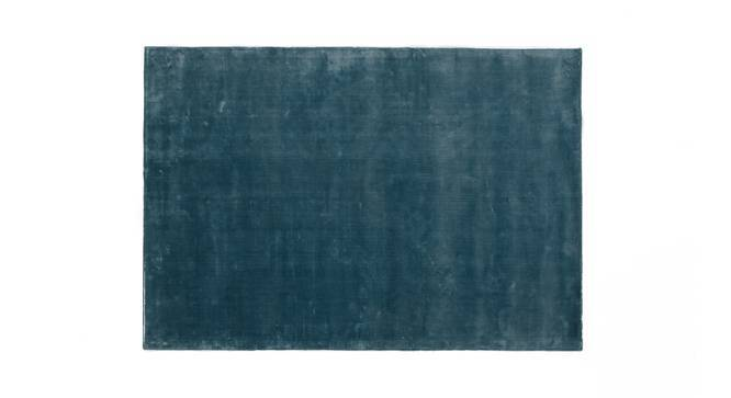 """Rubaan Viscose Rug (36"""" x 60"""" Carpet Size, Pastel Turquoise) by Urban Ladder"""