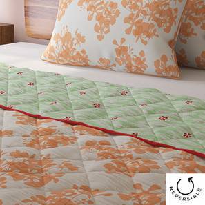 Gulmohar Quilt (Double Size, Multi Colour) by Urban Ladder