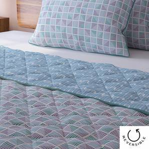 Overlay Quilt (Double Size, Multi Colour) by Urban Ladder