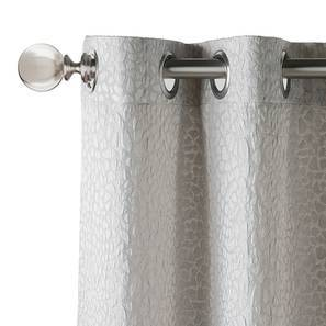 "Argus Jacquard Door Curtains (Set of 2) (Multi Colour, 54"" x 108"" Curtain Size) by Urban Ladder"