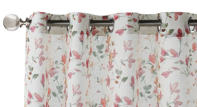 """Arley Sheer Door Curtains (Set of 2) (Multi Colour, 54""""x84"""" Curtain Size) by Urban Ladder"""