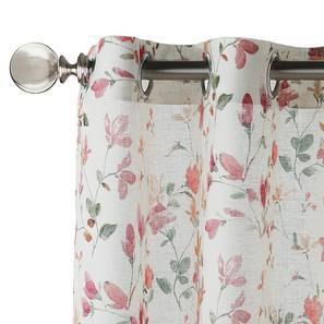 """Arley Sheer Door Curtains (Set of 2) (Multi Colour, 54"""" x 108"""" Curtain Size) by Urban Ladder"""