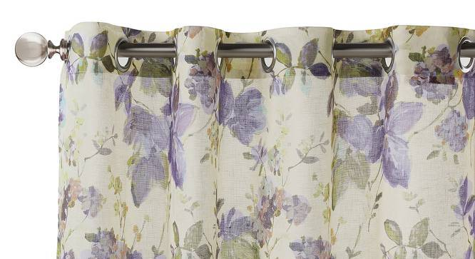 """Kellie Sheer Door Curtains (Set of 2) (Multi Colour, 54""""x84"""" Curtain Size) by Urban Ladder"""