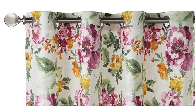 """Tresco Door Curtains (Set of 2) (Multi Colour, 54""""x84"""" Curtain Size) by Urban Ladder"""