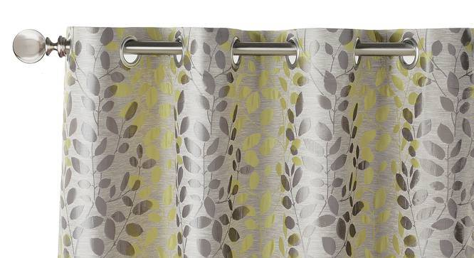 "Morden Jacquard Door Curtains (Set of 2) (Multi Colour, 54"" x 108"" Curtain Size) by Urban Ladder"