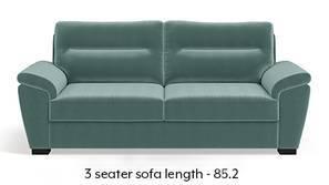 Adelaide Sofa (Dusty Turquoise Velvet)