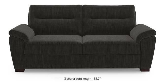 Adelaide Sofa (Graphite Grey) (1-seater Custom Set - Sofas, None Standard Set - Sofas, Fabric Sofa Material, Regular Sofa Size, Regular Sofa Type, Graphite Grey)