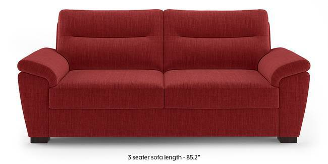 Adelaide Sofa (Salsa Red) (1-seater Custom Set - Sofas, None Standard Set - Sofas, Fabric Sofa Material, Regular Sofa Size, Regular Sofa Type, Salsa Red)