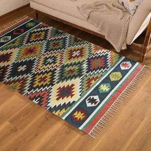 """Obruk Dhurrie (Red, 36"""" x 60"""" Carpet Size) by Urban Ladder"""