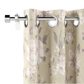 "Levens Jacquard Door Curtains (Set of 2) (Multi Colour, 54"" x 108"" Curtain Size) by Urban Ladder"