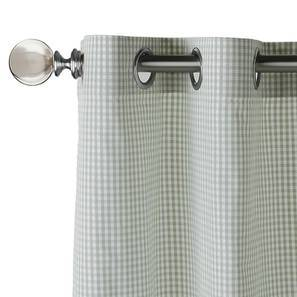 "Luna sheer Door Curtains (Set of 2) (Multi Colour, 54"" x 108"" Curtain Size) by Urban Ladder"