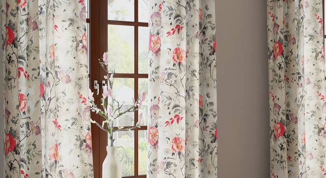 "Barbara Door Curtains (Set of 2) (Multi Colour, 54"" x 108"" Curtain Size) by Urban Ladder"