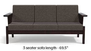 Glen Wooden Sofa (Grey)
