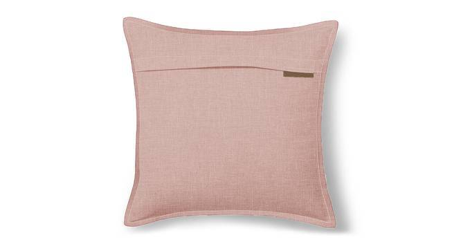 """Tito Cushion Cover - Set Of 2 (16"""" X 16"""" Cushion Size, Begonia Pink) by Urban Ladder"""