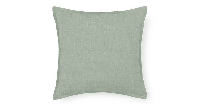 """Tito Cushion Cover - Set Of 2 (16"""" X 16"""" Cushion Size, Eucalyptus Green) by Urban Ladder"""