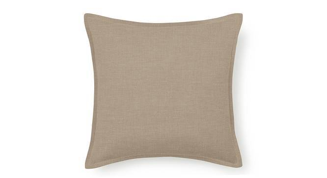 """Tito Cushion Cover - Set Of 2 (16"""" X 16"""" Cushion Size, Nougat Brown) by Urban Ladder"""