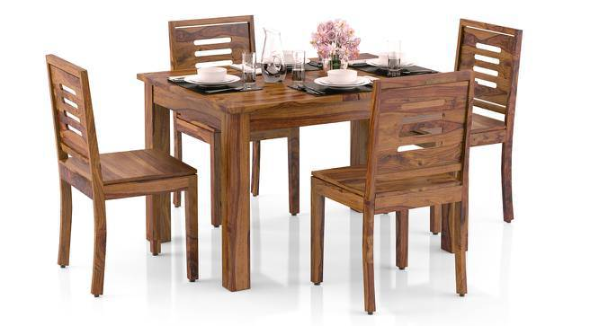 7cdee6a14ecd2 Arabia 4-to-6 Extendable - Capra 4 Seater Dining Table Set - Urban ...