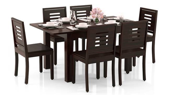 1f93c82d3836a Arabia 4-to-6 Extendable - Capra 6 Seater Dining Table Set - Urban ...