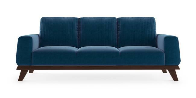 Granada Sofa (Cobalt Blue) (1-seater Custom Set - Sofas, None Standard Set - Sofas, Cobalt, Fabric Sofa Material, Regular Sofa Size, Regular Sofa Type)