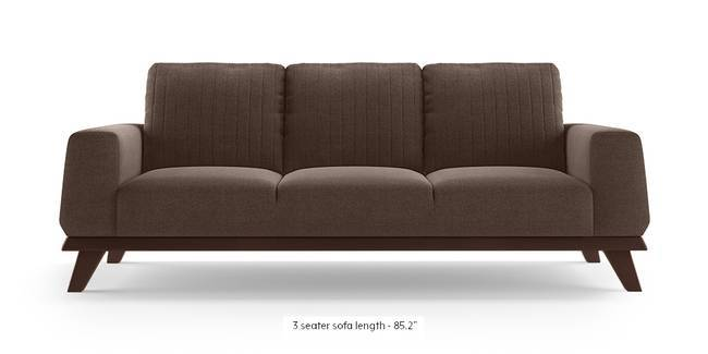 Granada Sofa (Daschund Brown) (1-seater Custom Set - Sofas, None Standard Set - Sofas, Fabric Sofa Material, Regular Sofa Size, Regular Sofa Type, Daschund Brown)