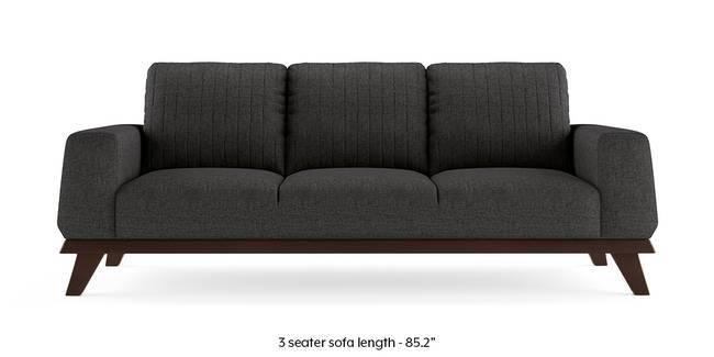 Granada Sofa (Steel Grey) (1-seater Custom Set - Sofas, None Standard Set - Sofas, Steel, Fabric Sofa Material, Regular Sofa Size, Regular Sofa Type)