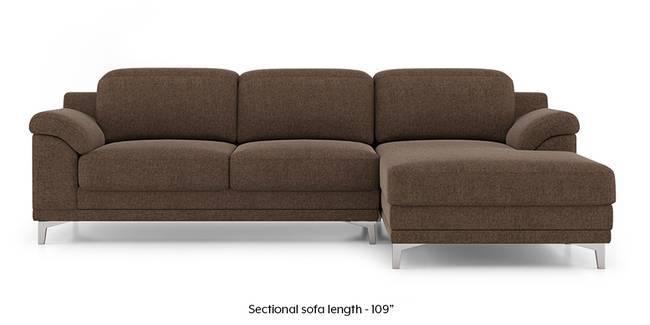 Hally Adjule Sectional Sofa Brown None Custom Set Sofas
