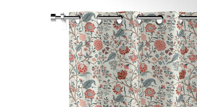 """Calico Door Curtains - Set of 2 (54"""" x 108"""" Curtain Size, Floral Retreat) by Urban Ladder"""