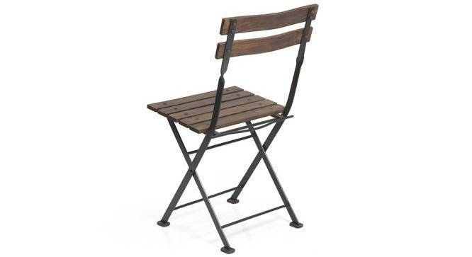 Masai Patio Chair (Teak Finish) by Urban Ladder