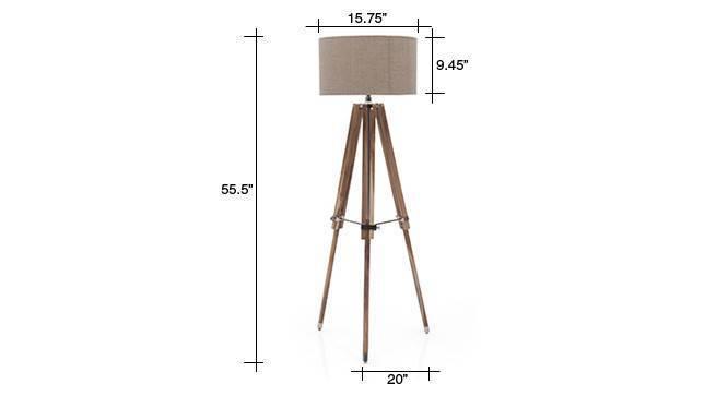 Kepler tripod floor lamp natural linen drum shade 4 img 0004 dm