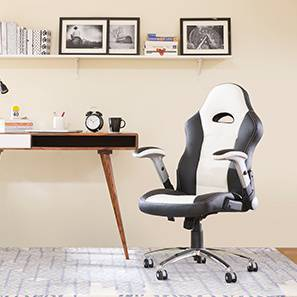 Mika Study Chair (White) by Urban Ladder