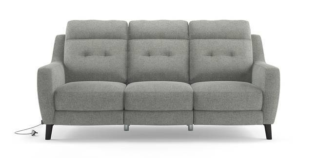 Trent Motorized Recliner Sofa (Grey) (Grey, 2-seater Custom Set - Sofas, None Standard Set - Sofas, Fabric Sofa Material, Regular Sofa Size, Regular Sofa Type)
