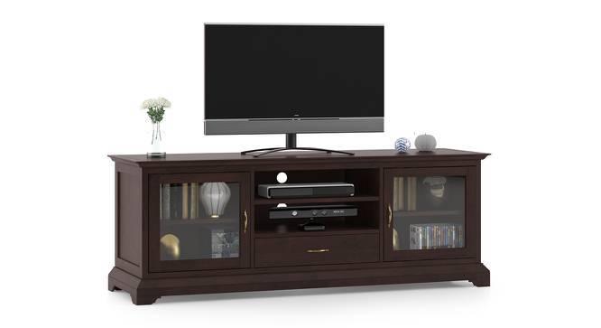"Eleanor 66"" TV Cabinet (Brown Oak Finish) by Urban Ladder"
