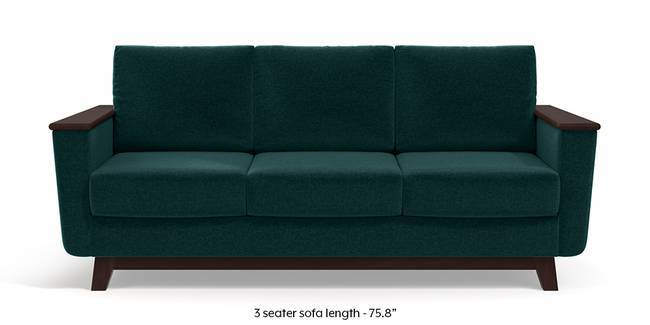 Corby Sofa (Malibu Blue) (3-seater Custom Set - Sofas, None Standard Set - Sofas, Fabric Sofa Material, Regular Sofa Size, Malibu, Regular Sofa Type)