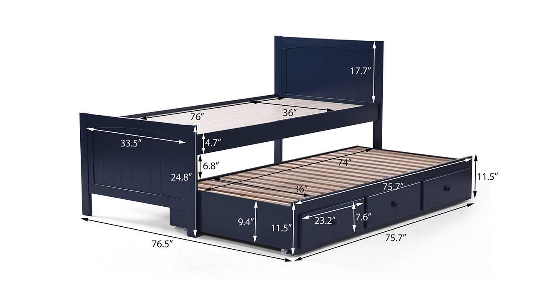 Bering single bed 21