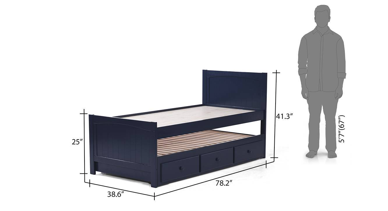 Bering single bed 22