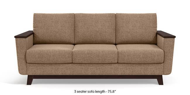 Corby Sofa (Safari Brown) (3-seater Custom Set - Sofas, None Standard Set - Sofas, Fabric Sofa Material, Regular Sofa Size, Regular Sofa Type, Safari Brown)