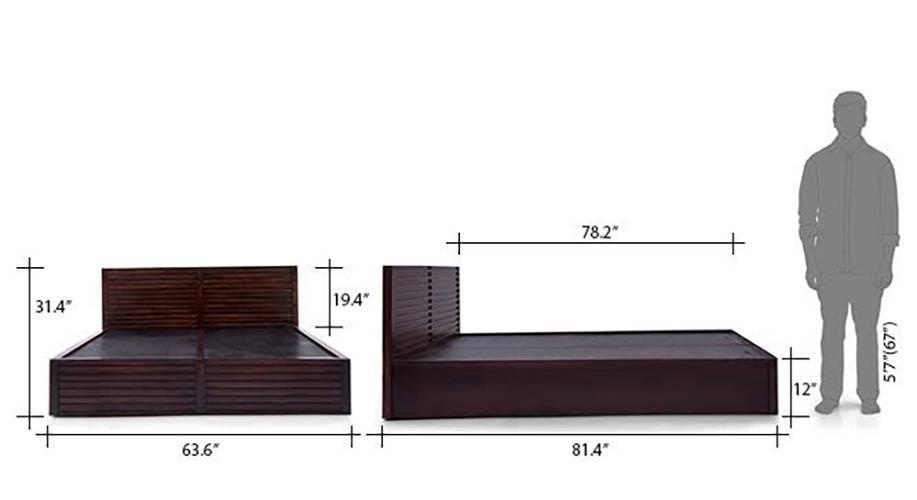 Rille box storage bed 22