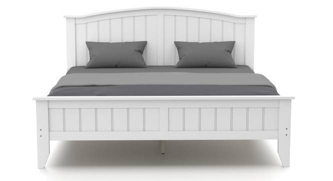 Wichita Bed (King Bed Size, White Finish) by Urban Ladder