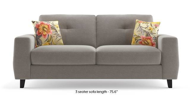 Edward Sofa (Mineral Grey) (Grey, Grey, 1-seater Custom Set - Sofas, 3-seater Custom Set - Sofas, None Standard Set - Sofas, None Standard Set - Sofas, Fabric Sofa Material, Fabric Sofa Material, Regular Sofa Size, Regular Sofa Size, Regular Sofa Type, Regular Sofa Type)