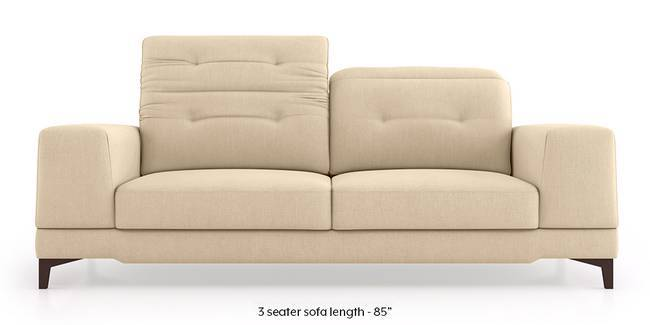 Derry Adjustable Sofa (Birch Beige) (3-seater Custom Set - Sofas, None Standard Set - Sofas, Fabric Sofa Material, Regular Sofa Size, Regular Sofa Type, Birch Beige)