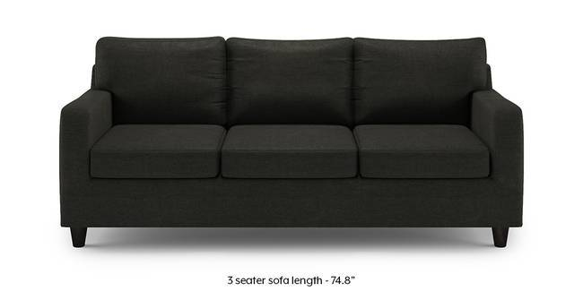 Walton Sofa (Charcoal Grey) (1-seater Custom Set - Sofas, None Standard Set - Sofas, Charcoal Grey, Fabric Sofa Material, Regular Sofa Size, Regular Sofa Type)