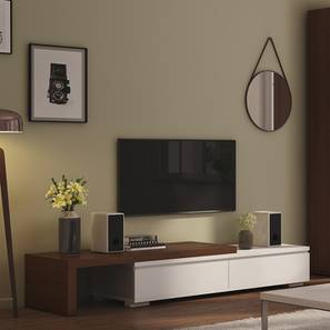 "Bayern 75"" TV Unit (Dark Walnut Finish) by Urban Ladder"