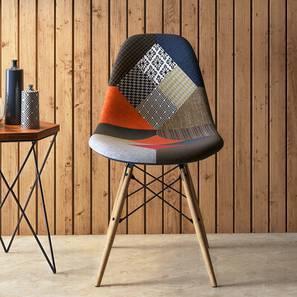DSW Side Chair Replica (Patchwork) by Urban Ladder