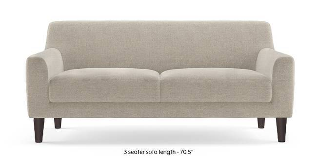 Newport Sofa (Oatmeal Grey) (3-seater Custom Set - Sofas, None Standard Set - Sofas, Fabric Sofa Material, Regular Sofa Size, Regular Sofa Type, Chrome)