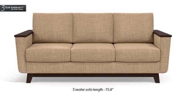 Corby Sofa (Sandshell Beige) (3-seater Custom Set - Sofas, None Standard Set - Sofas, Fabric Sofa Material, Regular Sofa Size, Regular Sofa Type, Sandshell Beige)